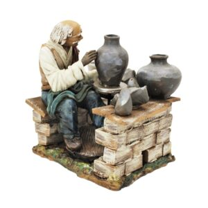 Statua presepe ceramica di Caltagirone
