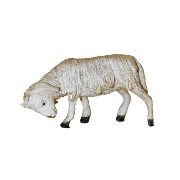 Statua presepe pecore e capre terracotta Pippo Giovane Caltagirone