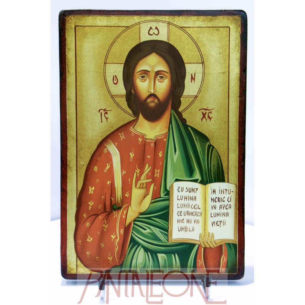 Cristo Pantocreatore pittura romana