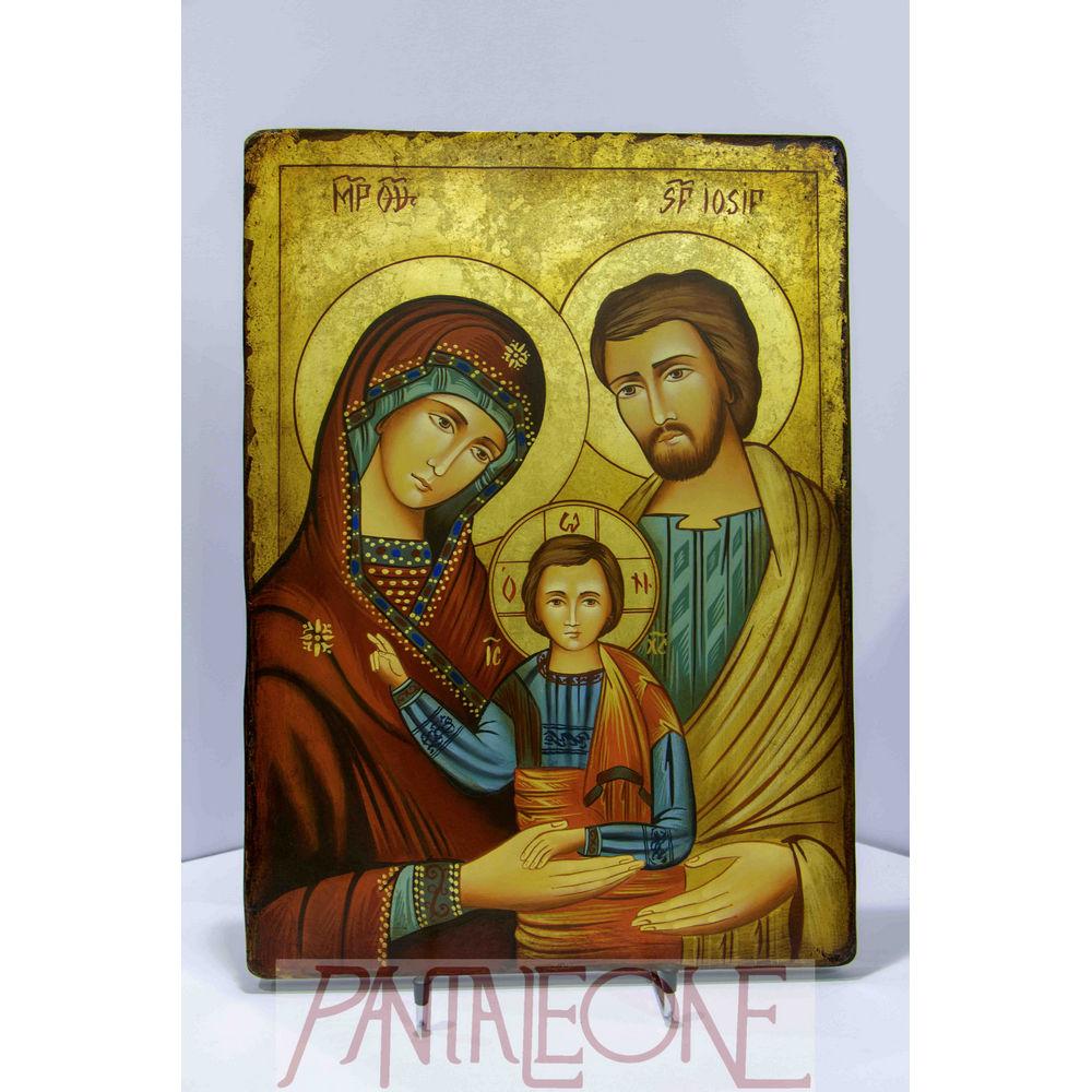 Sacra Famiglia pittura romana