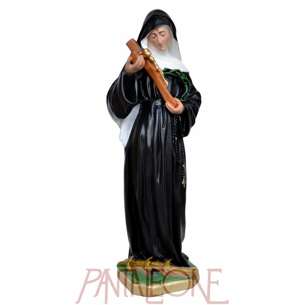 Statua Santa Rita cm 50 in resina vuota