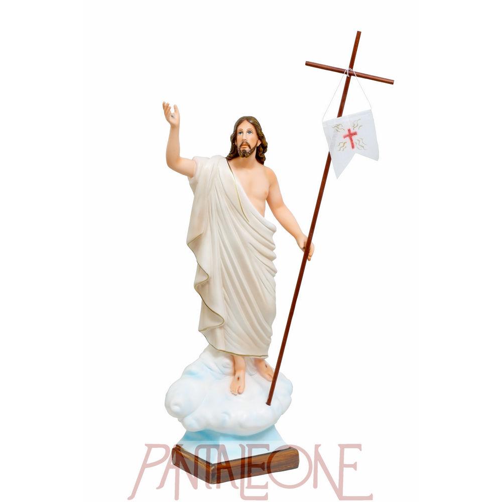 Statua Gesù risorto in vetroresina
