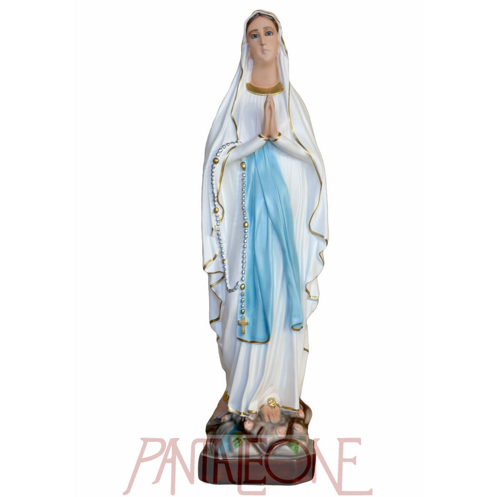 Madonna di Lourdes in vetroresina cm 73