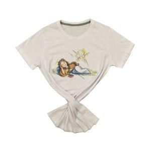 Maglietta cotone Santa Rosalia di Filippo Sapienza