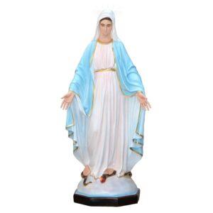 Statua Madonna Miracolosa cm 160 in resina