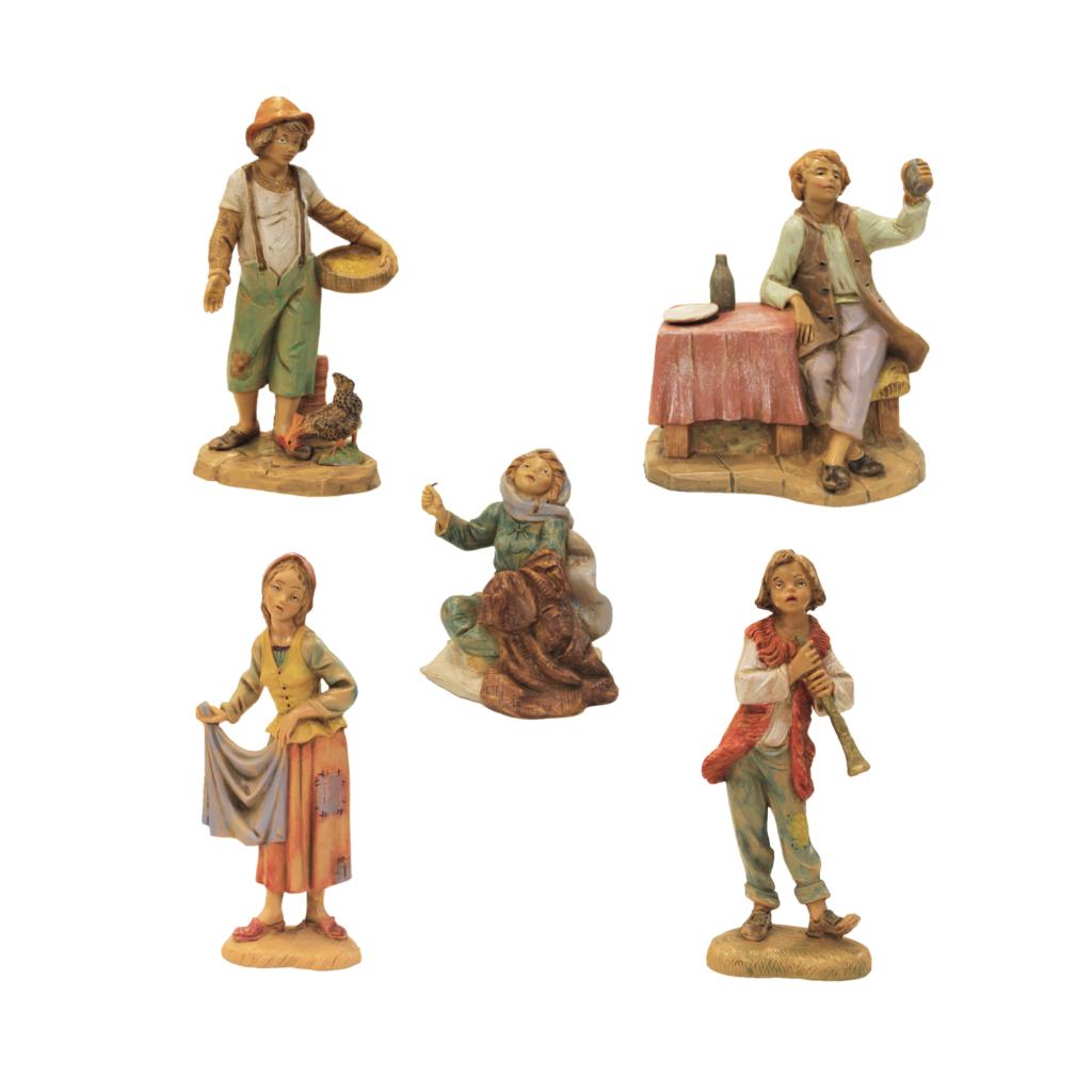 Pastori Fontanini 5 pezzi