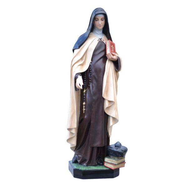 Statua Santa Teresa d'Avila cm 100 in resina