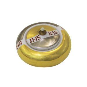 Lucerna a palla cm 10 color platino e oro